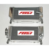 Aluminum Radiator for HONDA CRF250R/X 2004- 2009 left & right