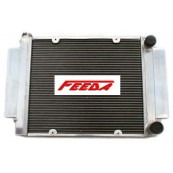 FEEDA 3 ROW Aluminum Radiator for Mazda RX-3 RX3 1979-1983 MT w/o heater pipe