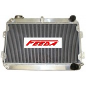 FEEDA 3 ROW Mazda RX7 RX-7 1979-1985 S1 S2 S3 Aluminum Radiator MT New